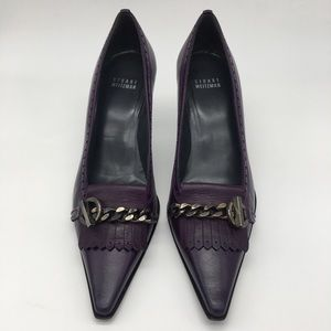 Stuart Weizman High Heel Pumps Purple